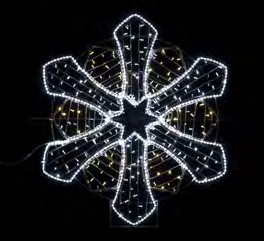 motivo navidad led flash