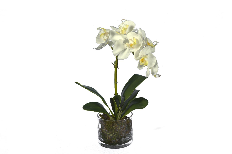 maceta orquidea arificial www.floresymuchomas.com
