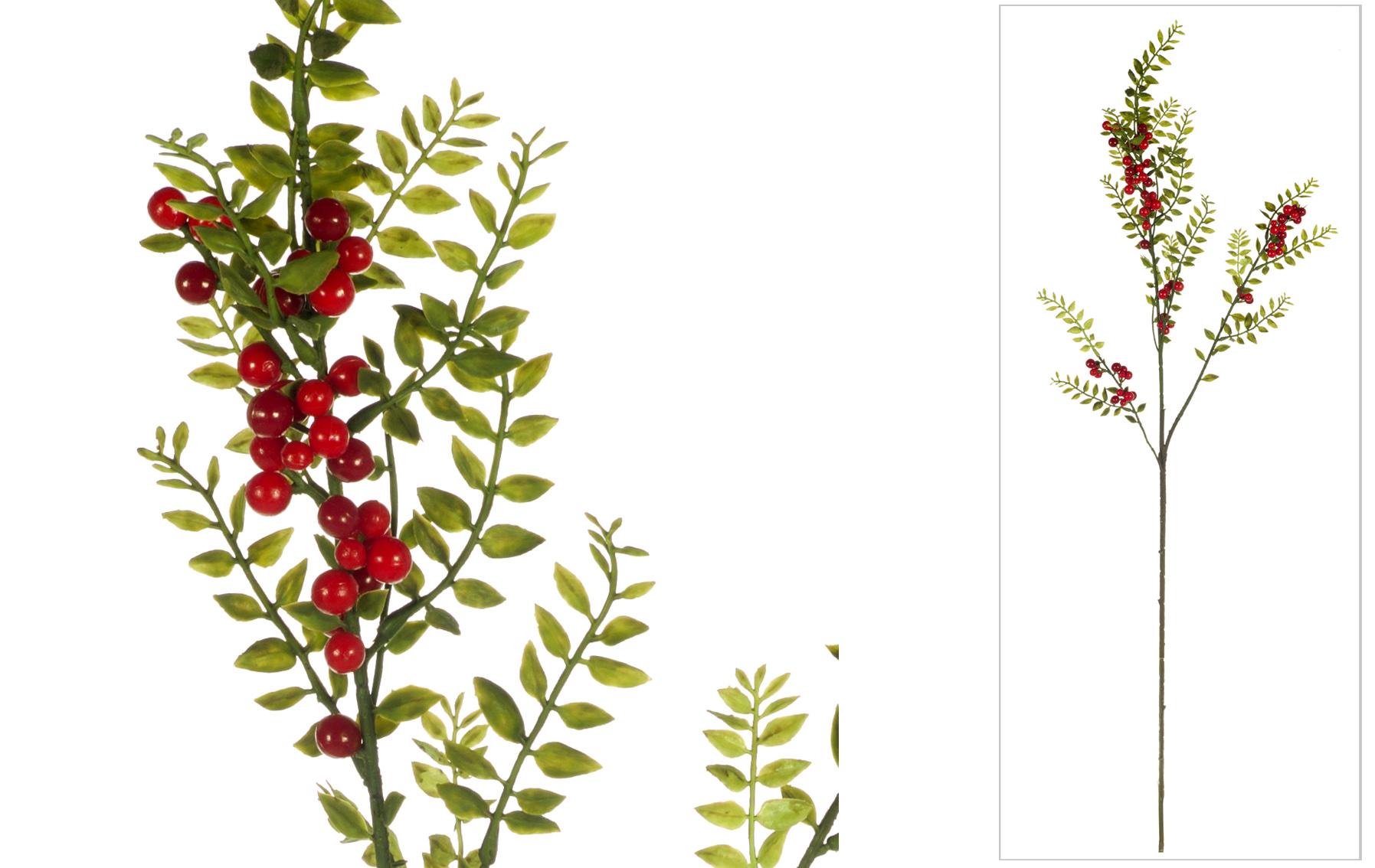 Vara Berrys y boj navidad www.floresymuchomas.com