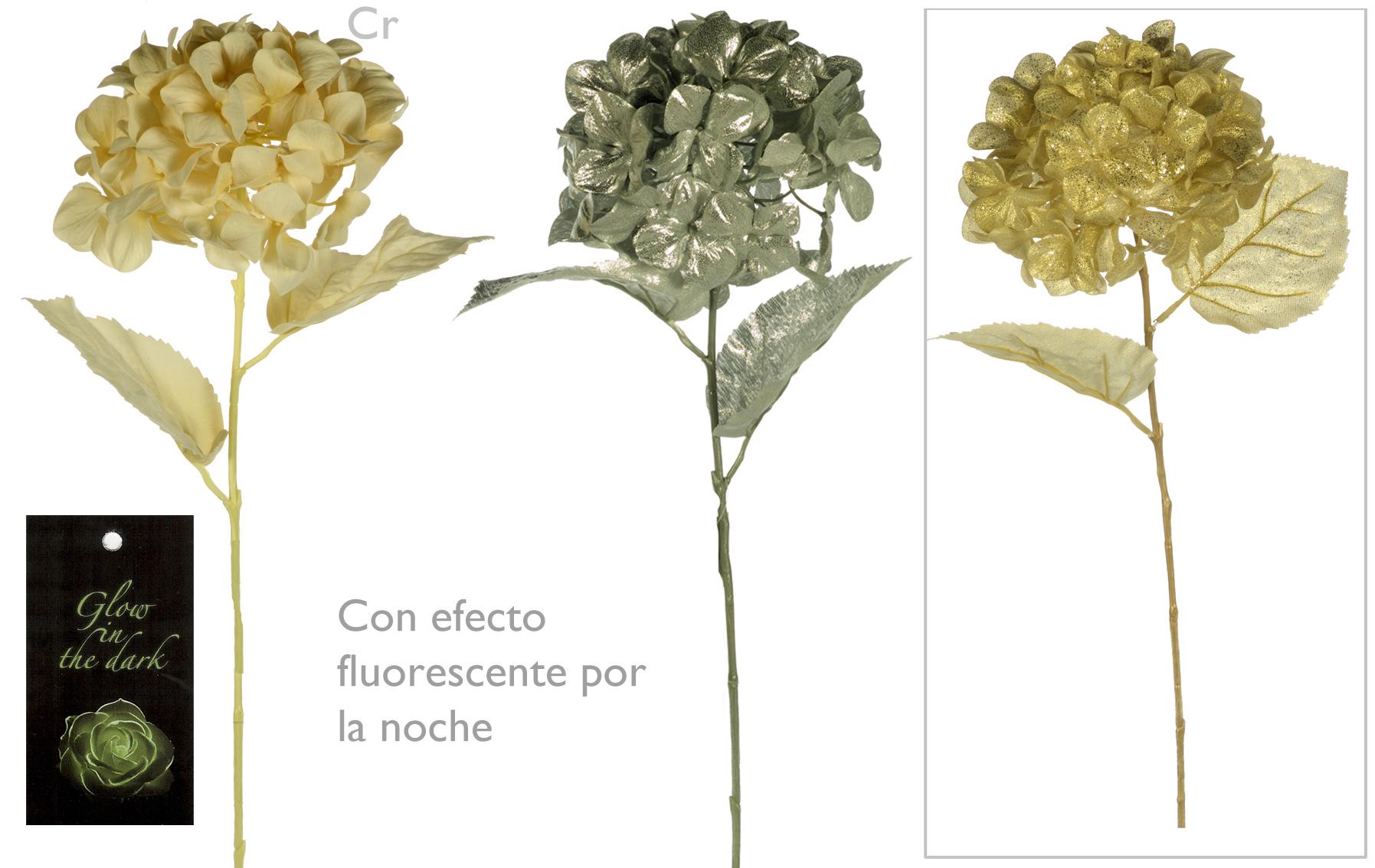hortensia fantasia navidad www.floresymuchomas.com