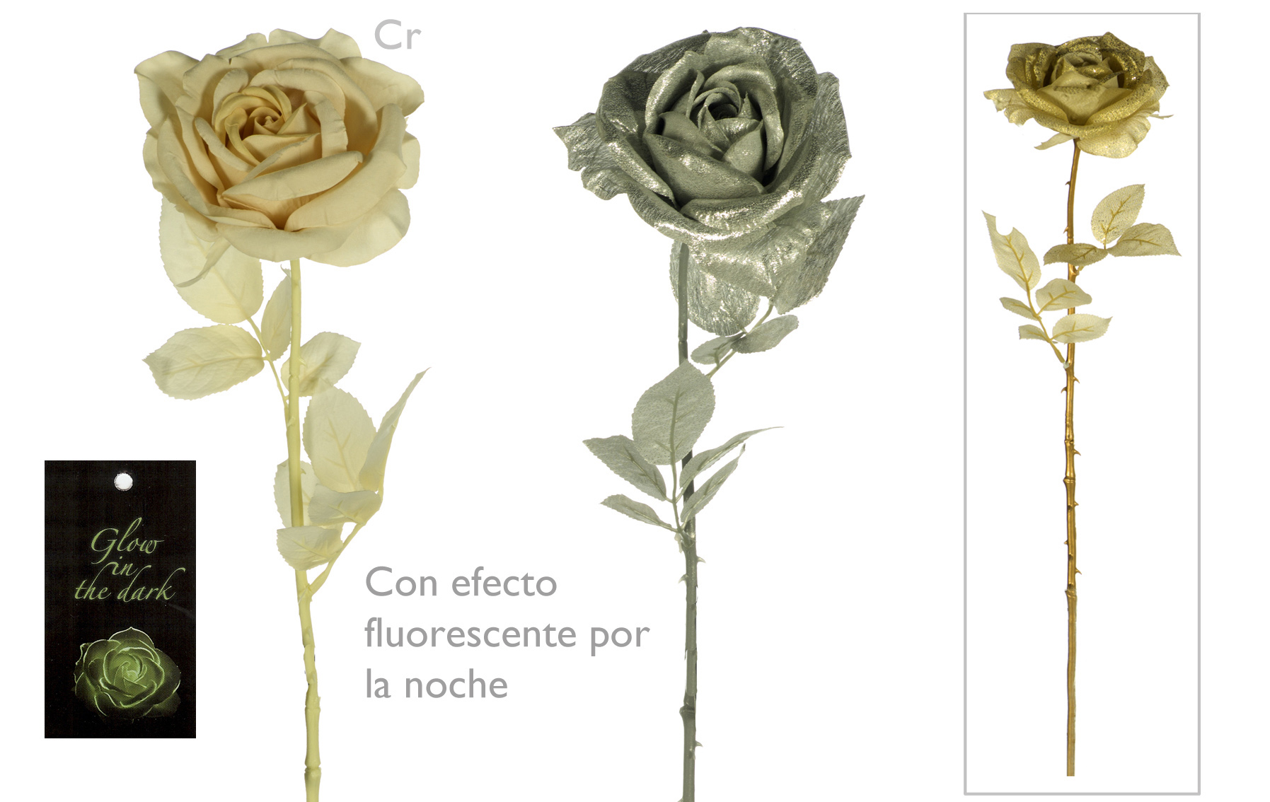 ROSA FANTASIA NAVIDAD WWW.FLORESYMUCHOMAS.COM