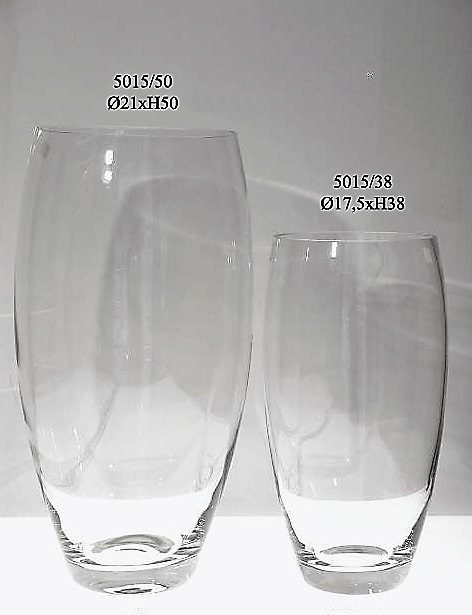 jarron cristal transparente floresymuchomas