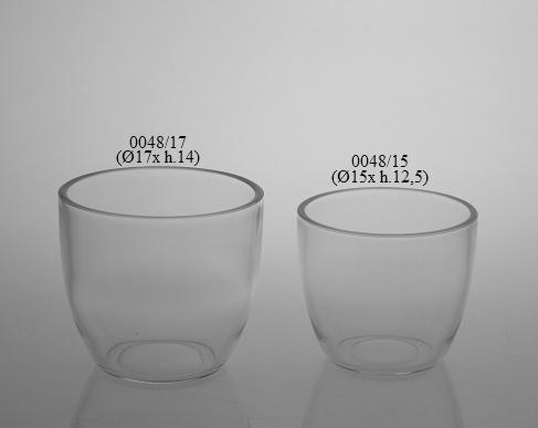 maceta de cristal